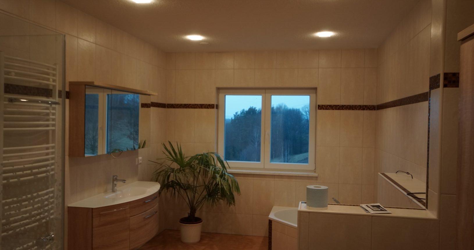 Modul Q49 im Badezimmer