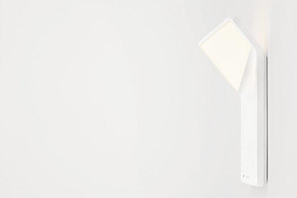 Winglet CL mit Bewegungsmelder und Helligkeitssensor, weiß seitlich