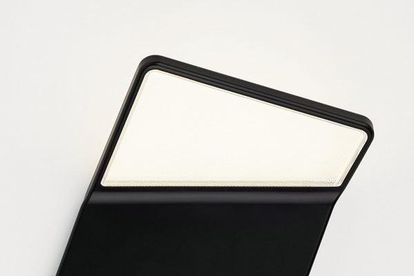 Winglet CL mit Bewegungsmelder und Helligkeitssensor, schwarz schraeg