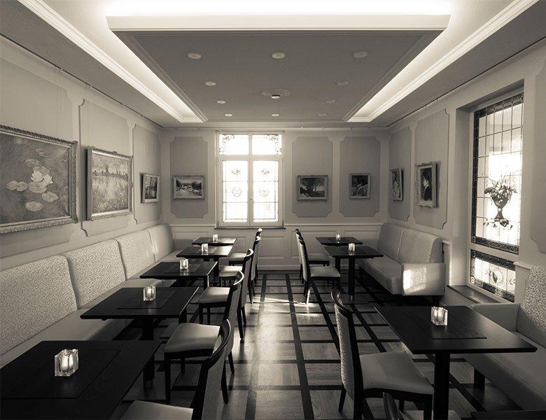 Cafe Denkpause Gastraum